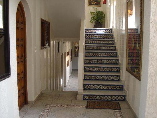 Hotel El Bahia: couloir