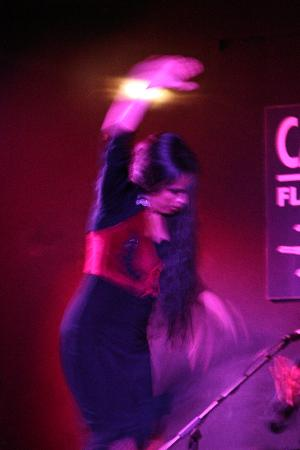 Cardamomo Tablao Flamenco: Belen Lopez dances Flamenco at Cardamomo