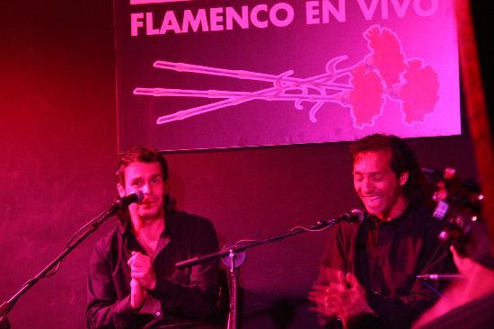 Cardamomo Tablao Flamenco: Flamenco Musicians at Cardamomo