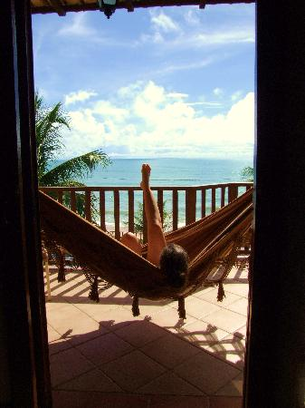 Manary Praia Hotel: view from room 207