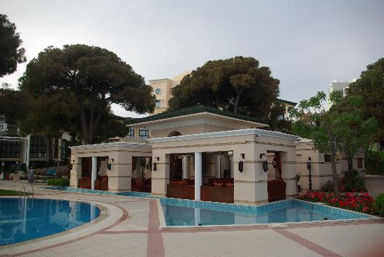 Sillyum Hotel: Vue générale et restaurant Turque