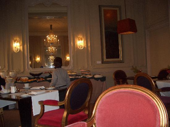 Cadogan Hotel: sala della prima colazione