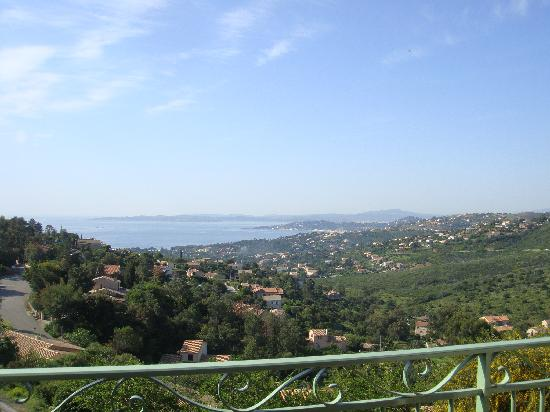Les Issambres, Francia: Vue du balcon