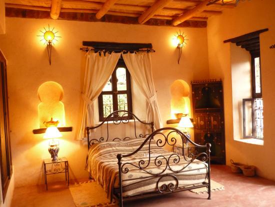Ouirgane, Marocko: La chambre