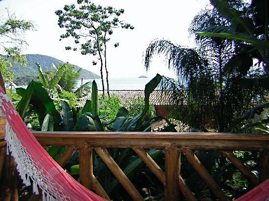 Pousada Naturalia: La terraza de la habitación