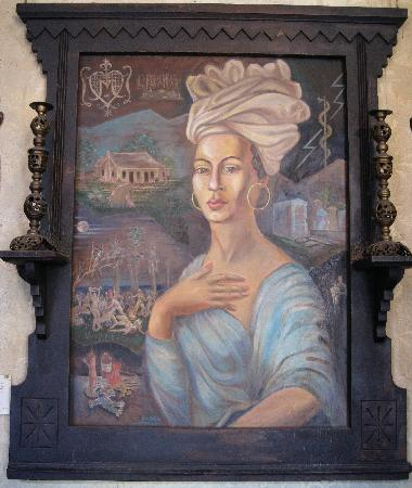 New Orleans, LA: Original painting of Marie Laveau