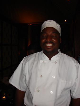 andBeyond Ngala Tented Camp: Award winning Chef Oscar