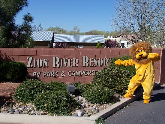 Warm Welcoming to Zion River Resort