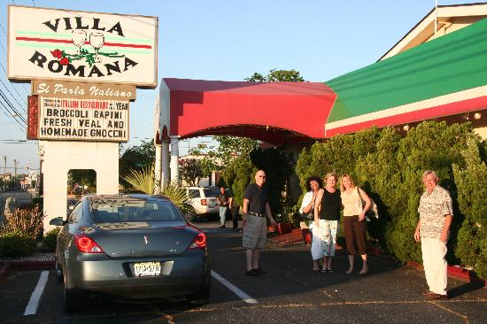 Villa Romana Italian Restaurant Our Gang Minus Me Taking The Picture