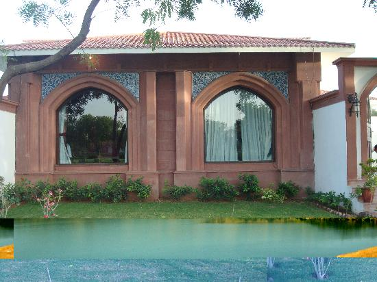 Hotel Raj Niwas Palace: the villas