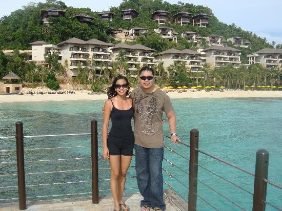 Shangri-La's Boracay Resort & Spa: view from dock