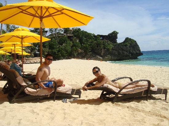 Shangri-La's Boracay Resort & Spa: relaxing by beachside NORTH wing