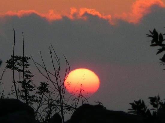 sunset at Paradisos hills hotel