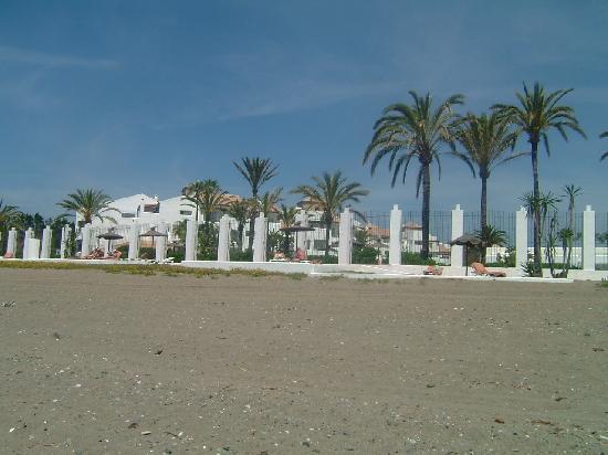 Costa del Sol Princess: L'hotel vu de la plage