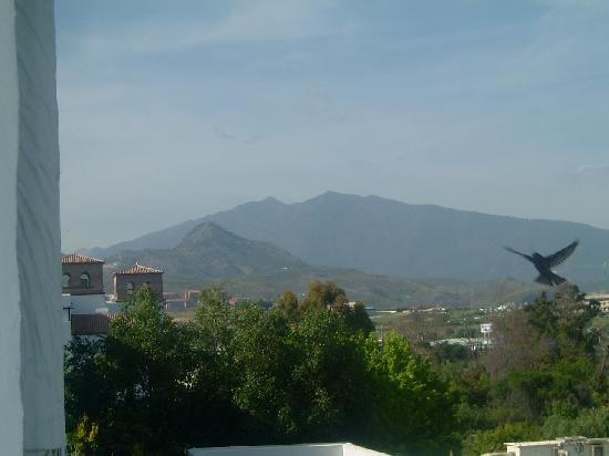 Costa del Sol Princess: Vue sur les montagnes de notre chambre