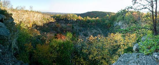 Ruffner Mountain Nature Preserve: The quarry.