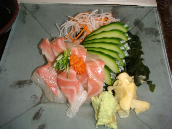 Flo Restaurant & Bar: Madai sashimi