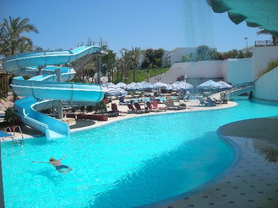 Piscina con scivolo foto di sultan gardens resort sharm - Piscine con scivoli ...