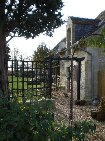 Les Limornieres in November sunshine - cottage