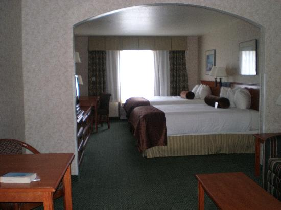 BEST WESTERN PLUS Cascade Inn & Suites: Sleeping area