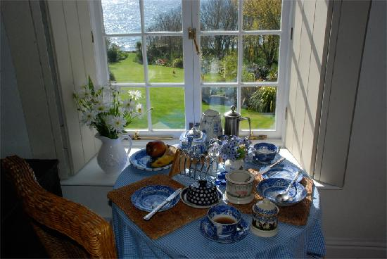 Cove Cottage: Breakfast