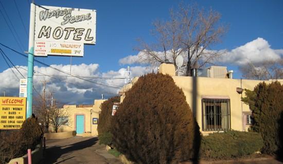 Western Scene Motel: Front office