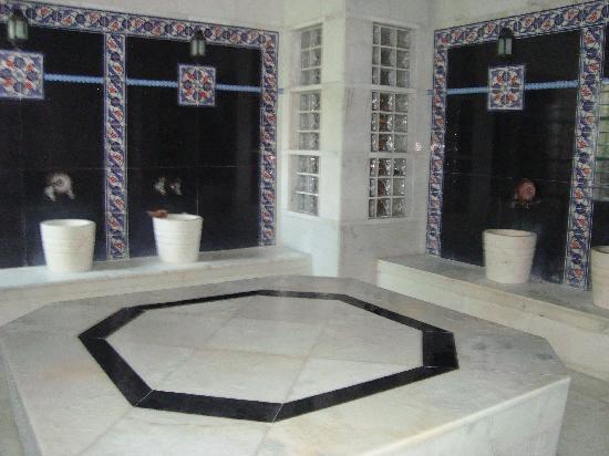 Aqua Fantasy Aquapark Hotel & SPA: hammam turque exellent