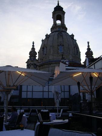 Hotel Suitess zu Dresden: restaurant with great view