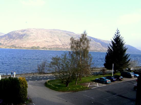 Bay Caledonian Hotel: another view from our window
