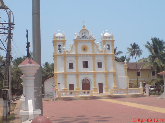 Goa, Inde : Cavelossim, Church
