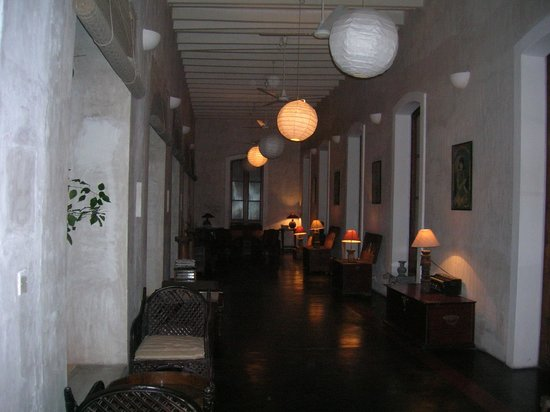 Villa Helena: corridoio