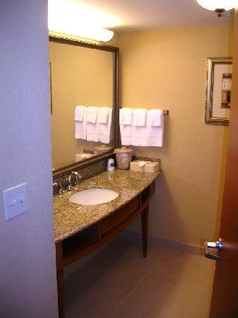 Fairfield Inn & Suites Jacksonville Butler Boulevard: My bathroom