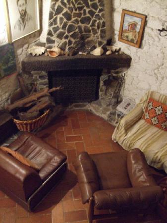Santo Stefano al Mare, Italia: Inside Torre degli Aregai