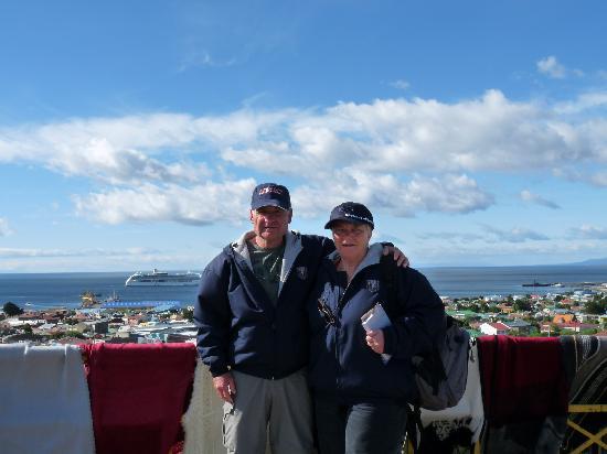 Punta Arenas, Chile: auf dem Cerro Hill