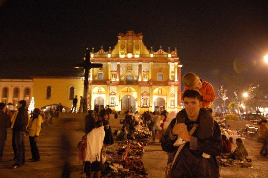 Best Western La Noria : church san cristobal