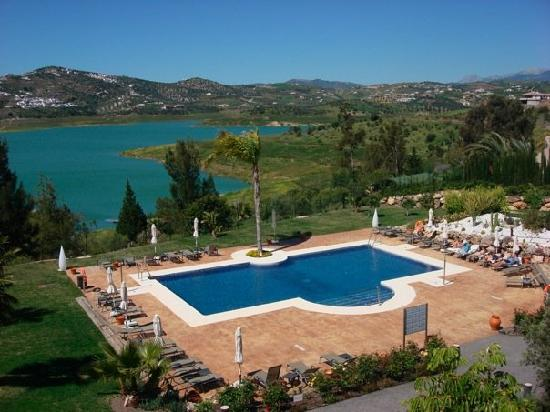 Hotel La Vinuela : View from our room