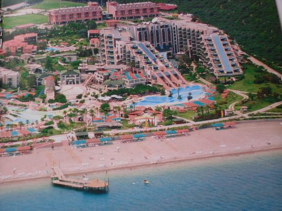 Limak Limra Hotel : Limak Limra from the air 2