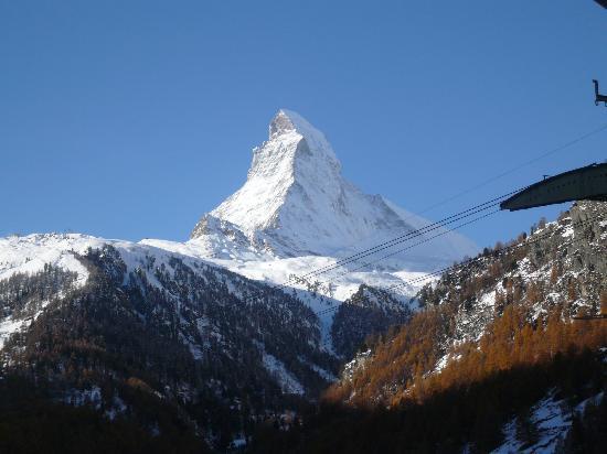 Hotel Matterhorn Focus: Vue de notre lit