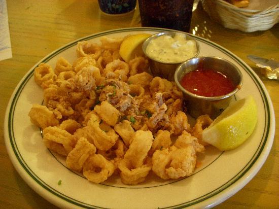 Mary's Pizza Shack: our calamari