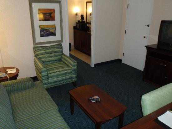 Embassy Suites by Hilton Brunswick: Suite front room