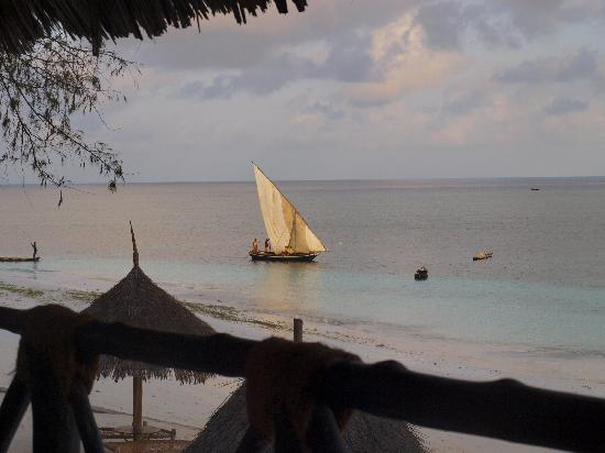 Nungwi Village Beach Resort: Dhow at Sunset