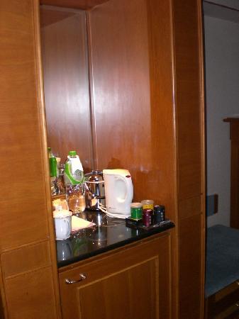 Beijing Scitech Hotel: Bar area