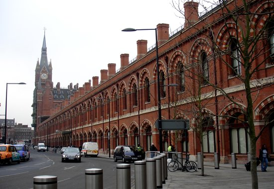 St pancras international station london die besten tipps - Gare king cross londres ...