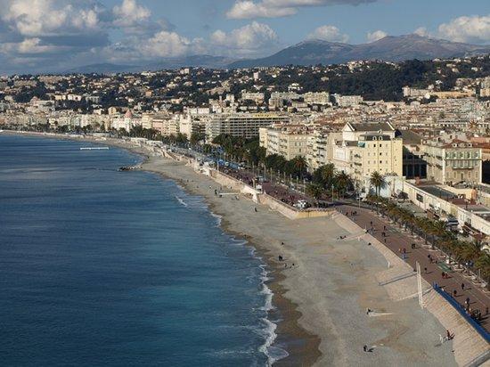 Νίκαια, Γαλλία: Nice beach