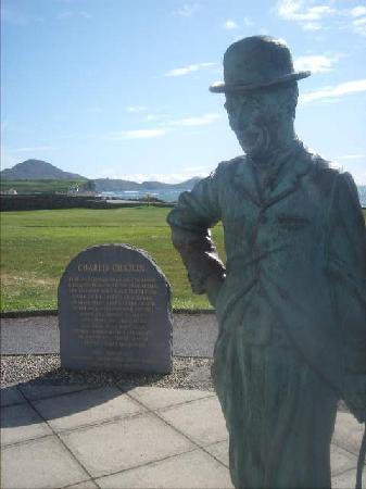 Butler Arms Hotel: Waterville Tribute to Charlie Chaplin