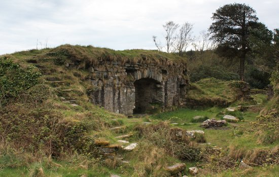 Cork (amt), Irland: Ireland: County Cork - Beara Peninsula: Remains of Dunboy Castle, near Castletownbere