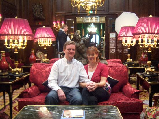 Hotel Sacher Wien : Beautiful Hotel Lobby