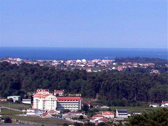 Province of Pontevedra, Spain: situacion del hotel