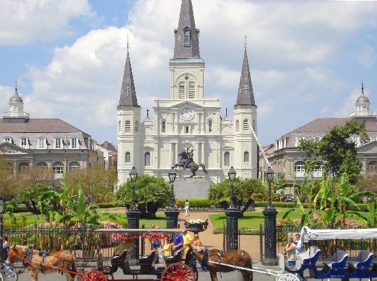 Nova Orleans, LA: Jackson Square