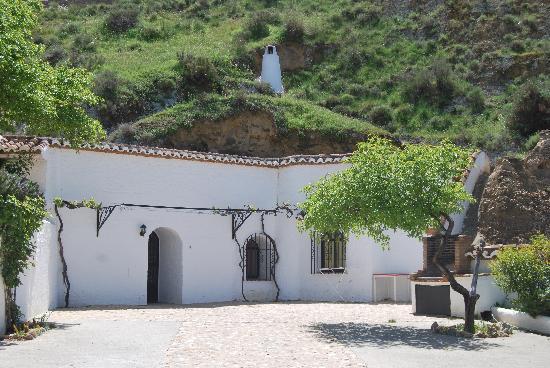 Cuevas Pedro Antonio de Alarcon: devant l'appartement